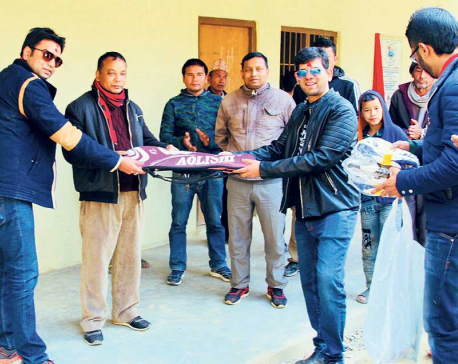 RTN inaugurates school building in Nuwakot