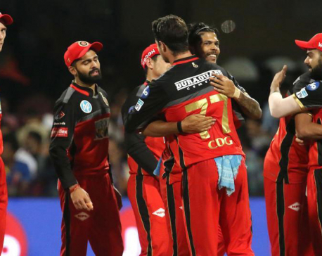 Royal Challengers Bangalore keep play-off hopes alive with win over Mumbai Indians