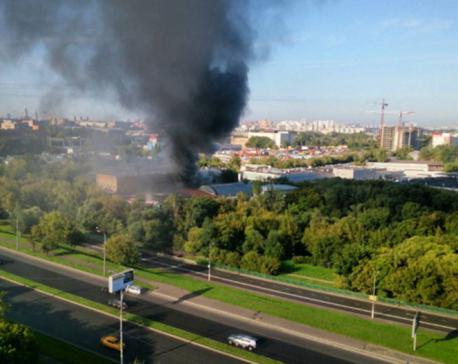 Fire sweeps through Russian warehouse, killing 17 workers