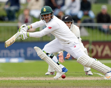 South Africa wins toss and bats 1st in 2nd test vs. England