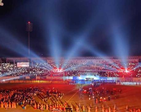 President Bhandari inaugurates 13th South Asian Games amid fanfare