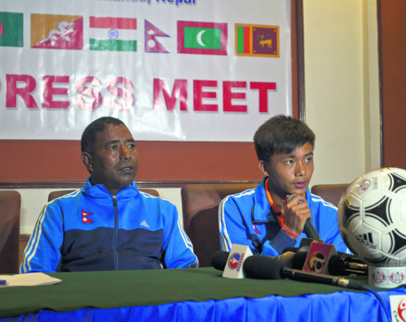 Nepal under pressure to win SAFF U-15 Championship: Coach Shrestha