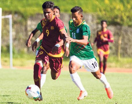 Bangladesh thrashes Sri Lanka in SAFF U-18 Championship