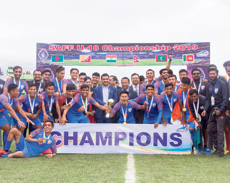 India beats nine-man B'desh to win first SAFF title