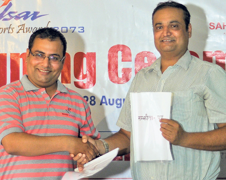 Sahas to co-sponsor Pulsar sports award