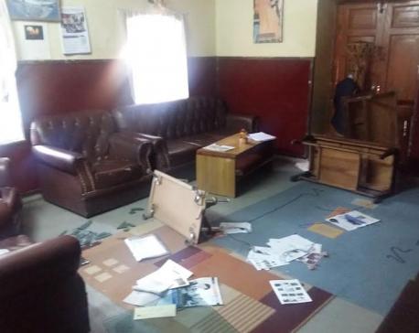 SANN College vandalized, three arrested