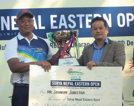 Shrestha wins Surya Nepal Eastern Open