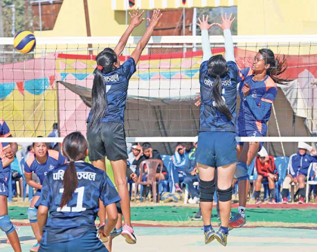 Army, APF to vie for men's volleyball title