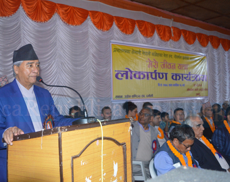 NC will take enough time to nominate candidates for by-polls, says President Deuba
