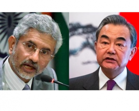 """Chinese, Indian foreign ministers agree disengagement on banks of Pangong Lake """"a significant first step"""""""