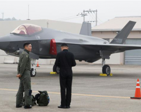 South Korean fighter jet patrols over islands disputed by Japan