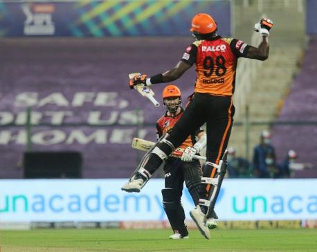 SRH eliminates RCB in Eliminator match of IPL 2020
