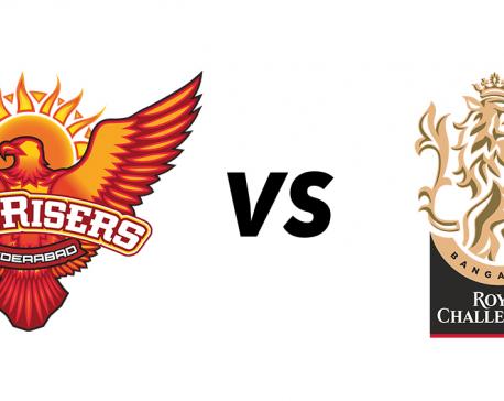 Kohli-led RCB taking on SRH in eliminator of IPL 2020
