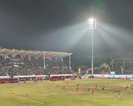 Nepal takes lead 1-0 against Bangladesh