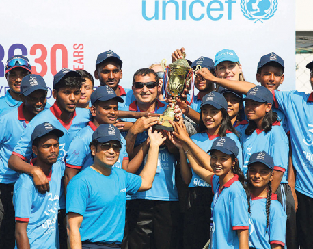 Cricket legend Tendulkar inspires Nepali cricket enthusiasts