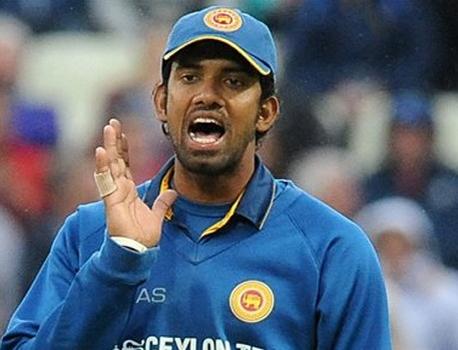 Sri Lanka's Senanayake fined for Warner send-off