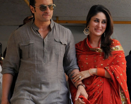 Saif, Kareena being ripped apart on Twitter over their baby's name