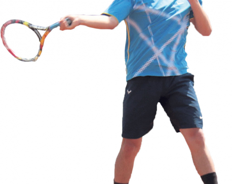 Taking Nepali tennis to greater height