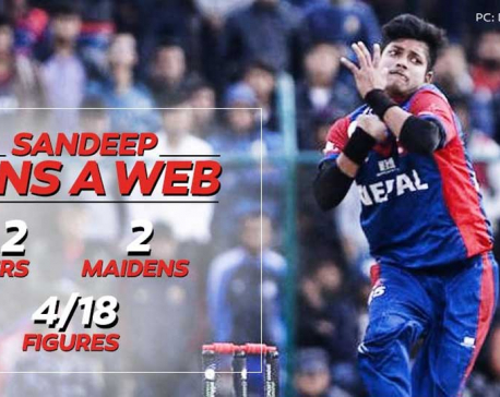 Delhi Daredevils reacts to Sandeep's performance