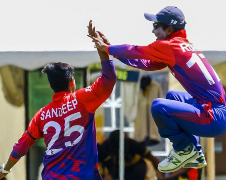 Nepal thrashes USA by 8 wickets with 268 balls remaining