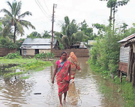 Border villages submerged due to Indian dam
