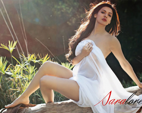 Sara Loren takes to Nepali language in Ishq Click