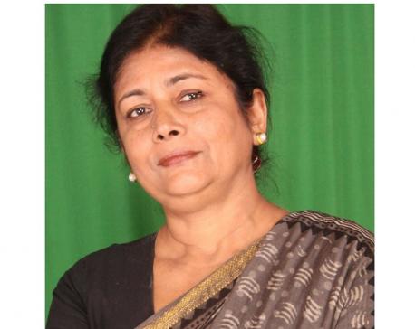 Parliamentarian Sarita Giri urges govt to withdraw price hike in petroleum products