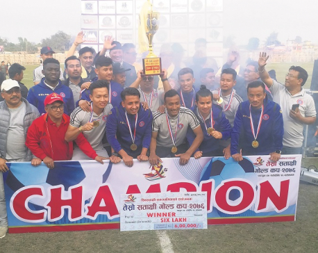 Machhindra lifts Satakshi to win second title of the season