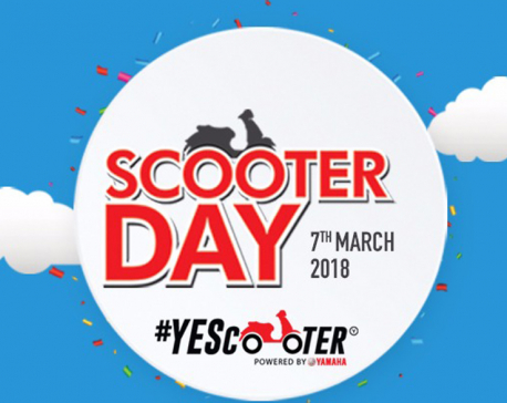 Yamaha to celebrate Scooter Day on March 7