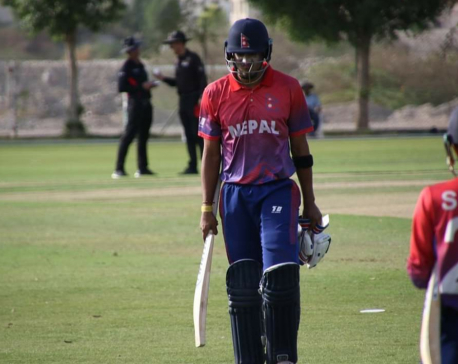 Oman thrashes Nepal by 6 wickets and wins Pentangular Series