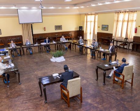 NCP Secretariat meeting being held today