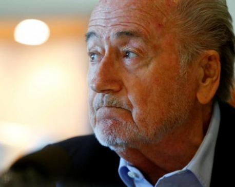 Blatter plans to visit football World Cup in Russia