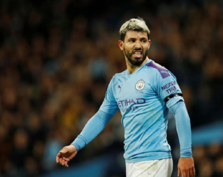 Catching Liverpool 'too hard' now, says Man City's Aguero