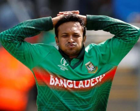 Bangladesh's Shakib banned for breaching corruption code