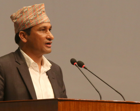 Media sector should play role of social responsibility: Minister Basnet