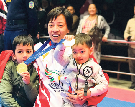 Mom of two Shakya totes up record points to lead Nepal's gold barrage