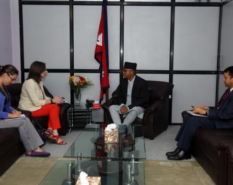 US Ambassador calls on PM Deuba