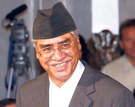 NC President Deuba not to attend Constitutional Council meeting scheduled for Sunday