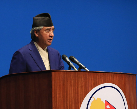Nepalis have shown national unity on issues of national interest: NC President Deuba
