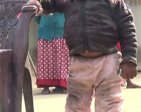 Prakash Sardar claimed shortest person in Nepal