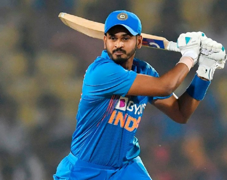 Iyer fireworks give India win in T20 opener in New Zealand