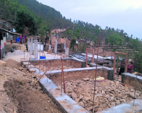 Quake victims deprived of second tranche