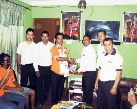 Sipradi Earthmovers organizes interaction with contractors