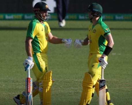 Smith, Finch hit tons as Australia beat India in tour opener
