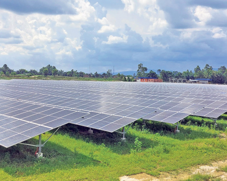 Commercial power generation from solar energy starts in Rautahat for the first time