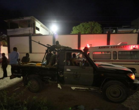 At least 19 killed in hotel attack in Somali capital