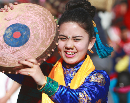 Sonam Lhosar being celebrated today