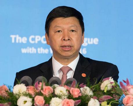 Senior Chinese Communist Party leader arriving in Nepal on September 23