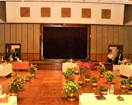 Speaker Sapkota holding all-party meeting(with photos)