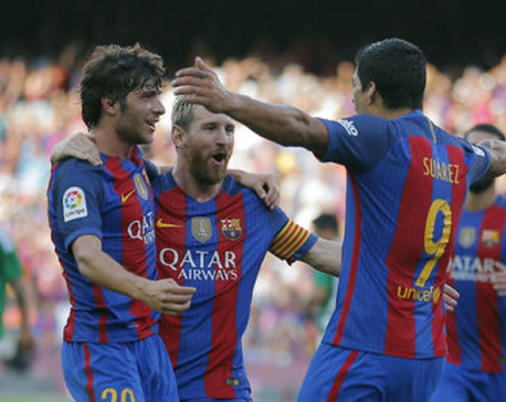 FC Barcelona dominate Real Betis in La Liga's opening match
